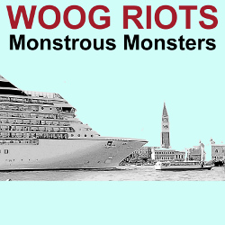 Artist: Woog Riots - Single Cover Monstrous Monsters