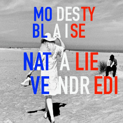 Single cover - Modesty Blaise - Natalie Vendredi