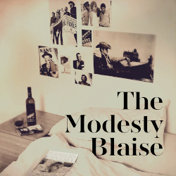 Album cover - Modesty Blaise - The Modesty Blaise