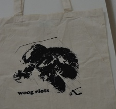 Photo Woog Riots bag: Astronaut
